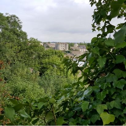 Vue château d'Exoudun