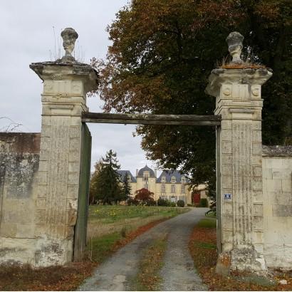 Saint-Léger-de-Montbrun - château de Rigny (privé)